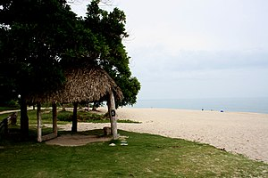 Beach at Santa Clara, Panama