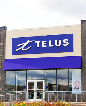 English: A Telus store in Moncton