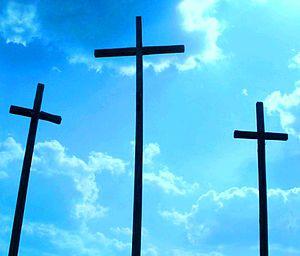 Three crosses mountain. Szydłowiec near Radom,...