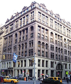The United Charities Building at 287 Park Aven...