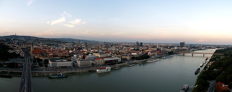 File:Bratislava from top Novy Most.jpg