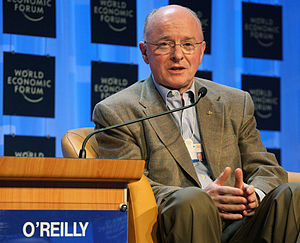 DAVOS/SWITZERLAND, 23JAN08 - David J. O'Reilly...