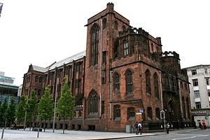 John Rylands Library, Manchester, England.