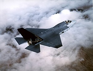 The X-35, Joint Strike Fighter from Lockheed M...