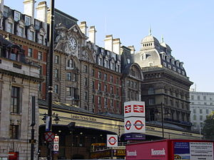 London Victoria station, used by the London, B...