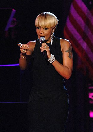 Mary J. Blige performs at the Neighborhood Bal...