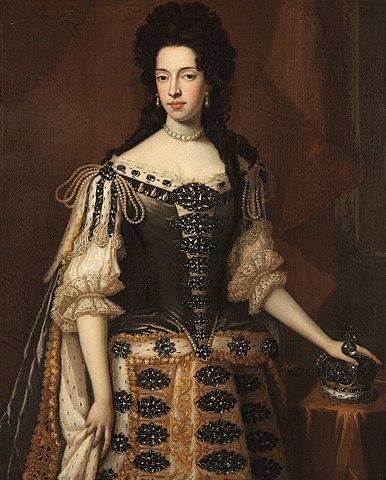 Maria Beatrice Anna Margherita Isabella d'Este aka Mary of Modena as Queen of England