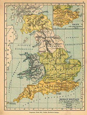 Roman Britain in 400 AD