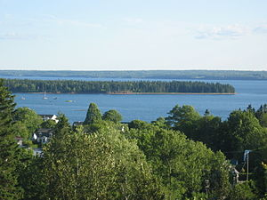 English: St. Andrews and Passamaquoddy Bay, as...