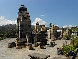 English: Temples of Baijnath, Uttarakhand, Ind...