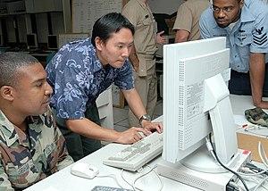 US Navy 070712-N-9758L-058 Matt Inaki, compute...
