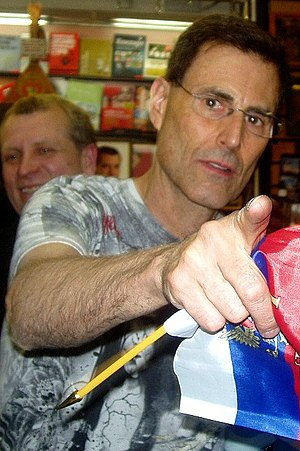 Uri Geller in Moscow (Russia)
