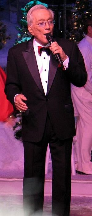 Andy Williams at Moon River theatre 2006.