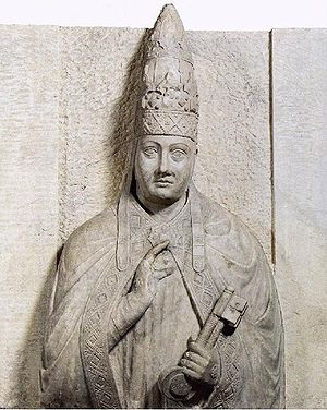 Monument Bonifaz VIII von Arnolfo di Cambio fü...