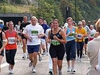 Fun runners taking part in the 2006 Bristol Ha...