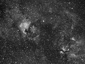 Photo of Cygnus constellation
