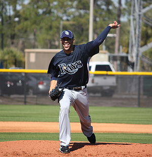 David Price of the Tampa Bay Rays doing first ...