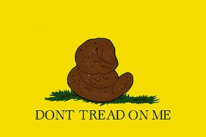 English: real don't tread on me Français : le ...