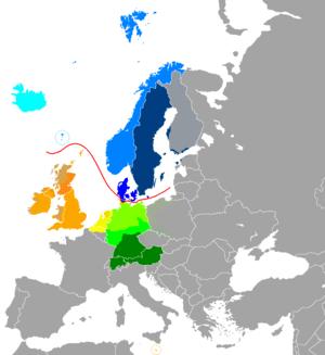 West Germanic languages Dutch (Low Franconian,...