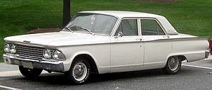 Ford Fairlane photographed in College Park, Ma...