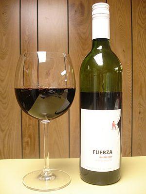 Malbec wine from Argentina