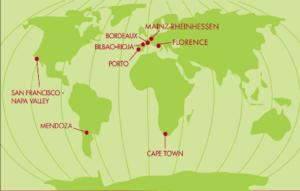 English: Great Wine Capitals Global Network ci...