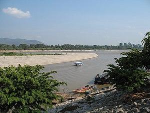 The Golden Triangle or Sop Ruak in Amphoe Chia...