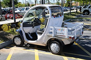 English: Google Electric Car Seciurity 2008 (V...