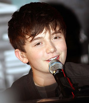 English: Greyson Chance in concert at the Hard...