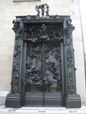 English: The Gates of Hell,1880-1917, Kunsthau...