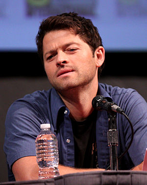 English: Misha Collins at the 2011 Comic Con i...