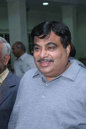 English: NiTin Gadkari - President of Bhartiya...