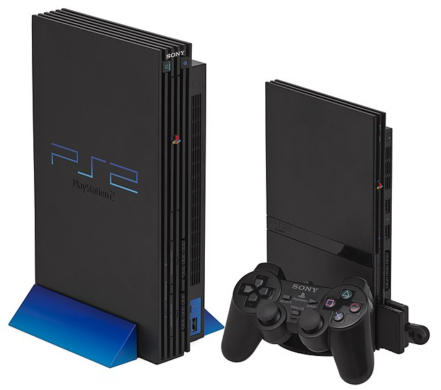 The slimline and original PlayStation 2
