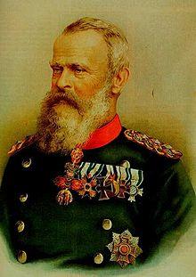 Le prince-régent Luitpold de Bavière
