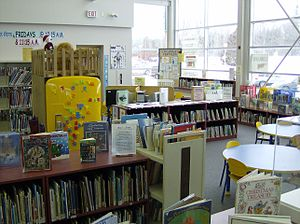 English: Children's area, Sutton branch