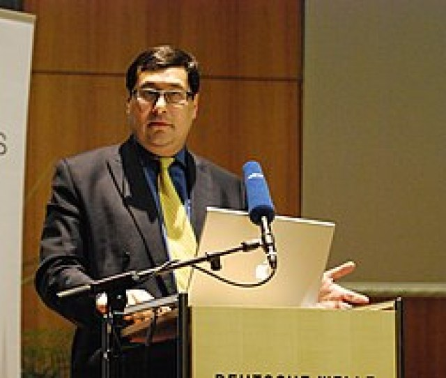 Professor Adil Najam During A Talk At Deutsche Welle Building In Bonn Germany On January