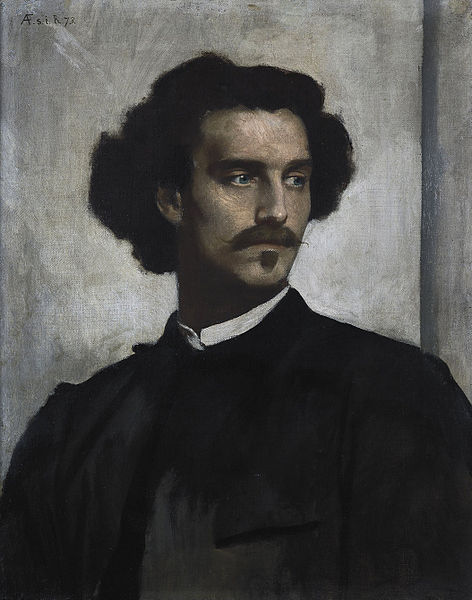 File:Anselm Feuerbach - Self-Portrait - Google Art Project.jpg