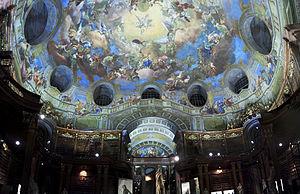 English: Austrian National Library pano França...