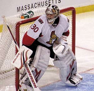 Brian Elliott, Goalie for the Senators 2009-11...