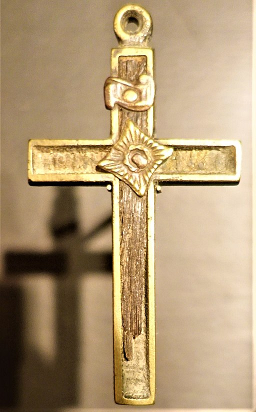 Cross from the Mission of the Guardian Angel - Joy of Museums - Chicago History Museum
