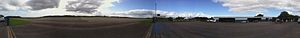 English: panorama of airport in Kiel-Holtenau ...