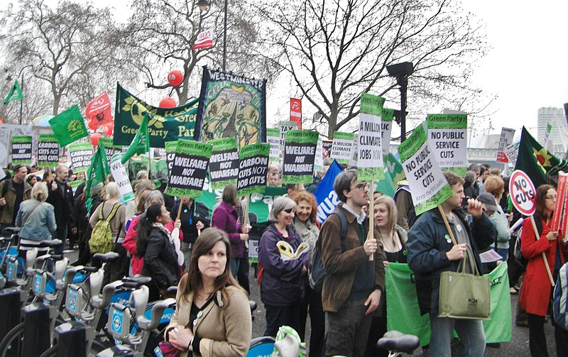 File:Green Party protestors 2011.jpg