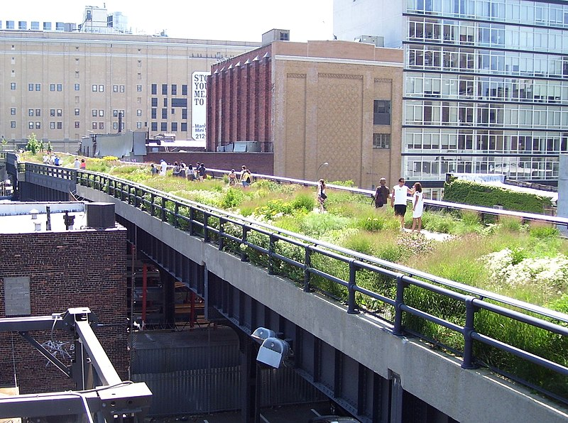 File:High Line 20th Street looking downtown.jpg