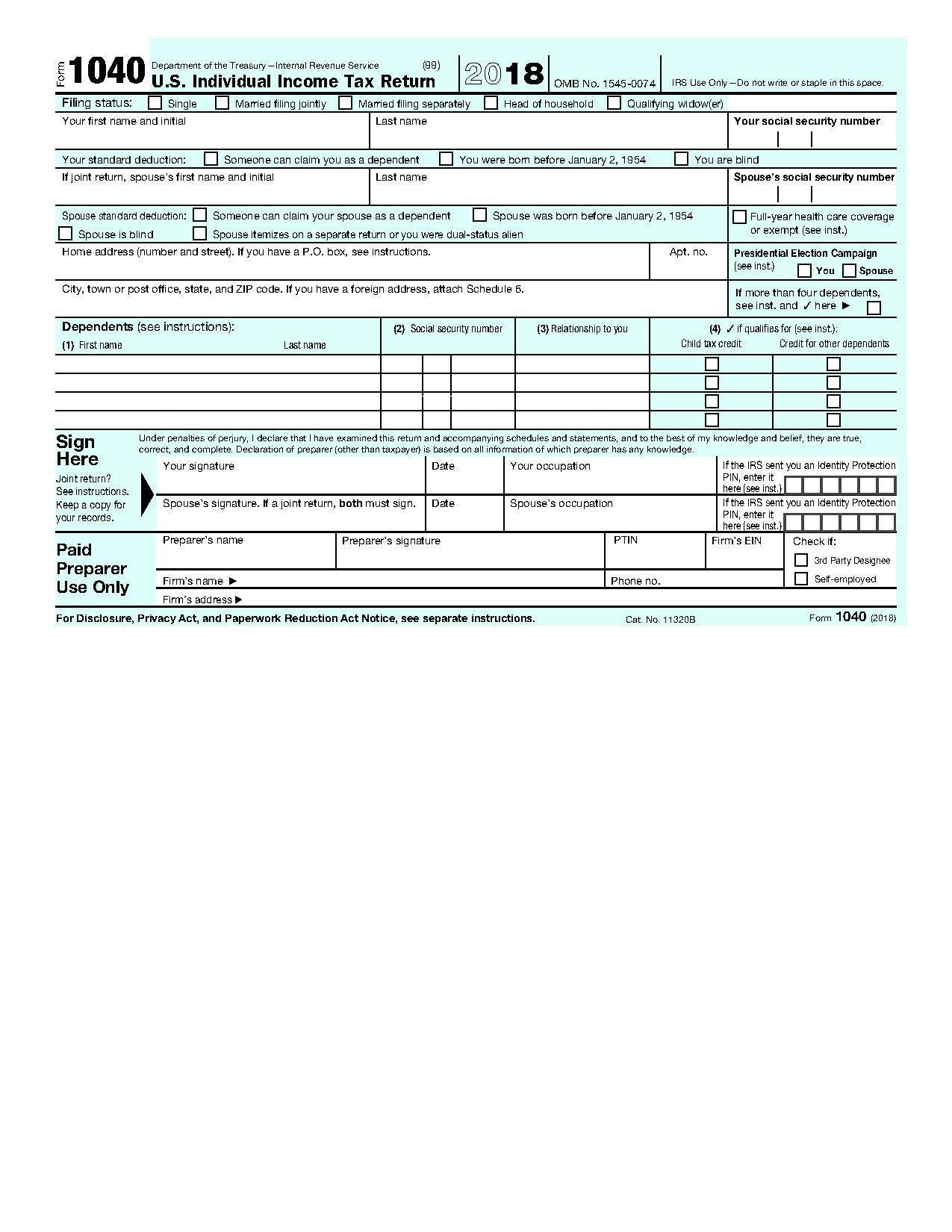 File Irs Form