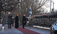 Presidential inauguration 1 March 2012
