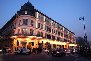 Department store Le Bon Marche Paris France