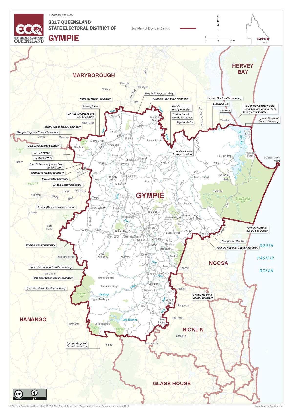 Electoral District Of Gympie Wikipedia