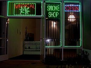 Medical marijuana dispensary on Ventura Boulev...