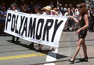 English: Polyamory contingent at San Francisco...