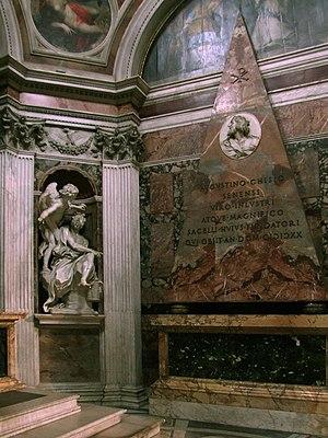 Santa Maria del Popolo, Capella Chigi, Roma,